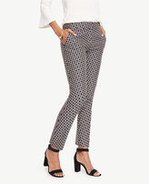 Ann Taylor Home Pants The Tall Ankle Pant in Daisy Jacquard - Kate Fit The Tall Ankle Pant in Daisy Jacquard - Kate Fit