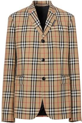 Burberry Vintage Check tailored blazer