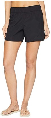 Hurley Supersuede Beachrider Boardshorts 5 (Black) Women's Swimwear
