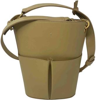 rsvp Beige Leather Handbags