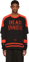 Hood by Air Black 'Dead Inside' Pullover