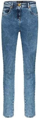 Versace Washed Denim Skinny Jeans