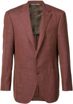 Canali two-button blazer - men - Silk/Linen/Flax/Wool - 50