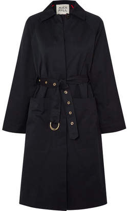 Alex Mill Channel Belted Cotton-blend Gabardine Trench Coat