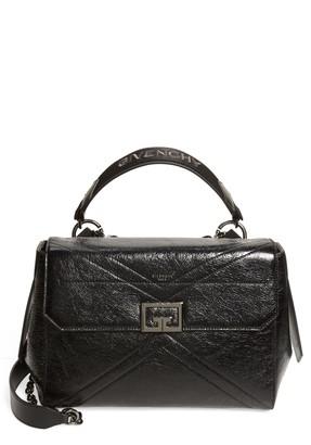Givenchy Shiny Creased Leather Satchel
