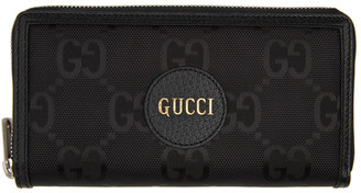 Gucci Black Off The Grid GG Zip-Around Wallet