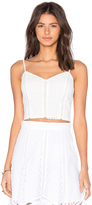 Lucy Paris x REVOLVE Cropped Cami Top
