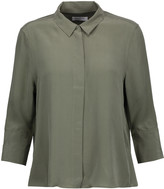 Equipment Esme washed-silk blouse