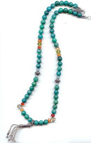MINU Jewelry - Amazonite Tassel Necklace