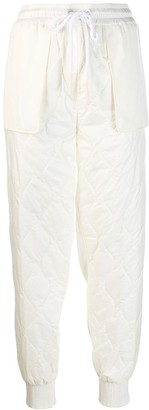 Moncler Quilted Track Trousers