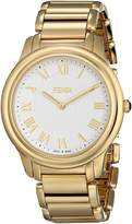 Fendi Men's F251414000 Classico Analog Display Quartz Gold Watch