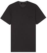 Jaeger Organic Cotton Crew Neck T-shirt, Black