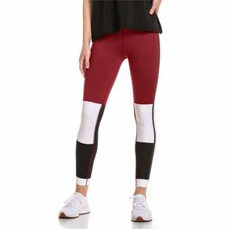 Puma x Selena Gomez 7/8 Women's Tight Pants Cordovanpuma Whitepuma Black XL