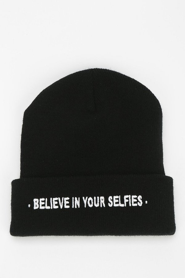 Urban Outfitters UNIF Believe In Your Selfies Beanie