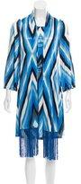 Celine Striped Long Sleeve Dress