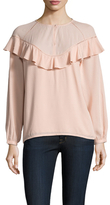 Paul & Joe Sister Menestrel Ruffle Trimmed Blouse