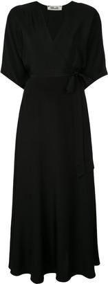 Diane von Furstenberg Eloise maxi wrap dress
