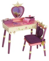 Levels of Discovery Princess Vanity Table & Chair Set - Pink