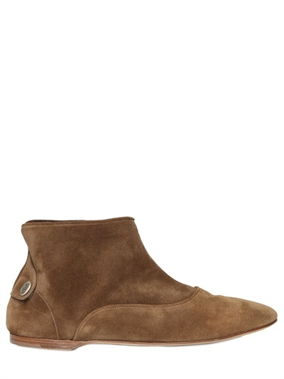 Alberto Fasciani 20mm Suede Low Boots