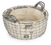 Home Essentials Postage Wire Baskets/Set of 3