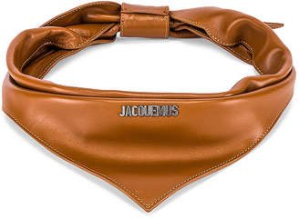 Jacquemus Bandana in Brown | FWRD