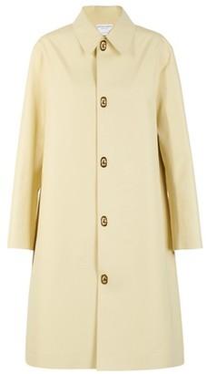 Bottega Veneta Long waterproof cotton coat
