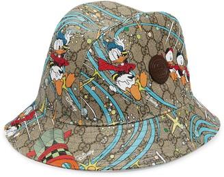Gucci x Disney Donald Duck Supreme canvas fedora