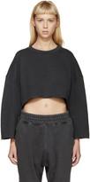 Yeezy Grey Cut-Off Pullover