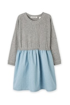 Country Road Spliced Knit Dress