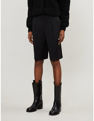Acne Studios Ruthie high-rise woven shorts