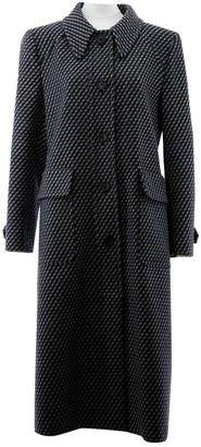 Prada Grey Wool Coat for Women