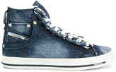 Diesel Exposure denim hi-top sneakers