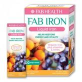 Fab IRON Liquid Iron Sachets 20 pack