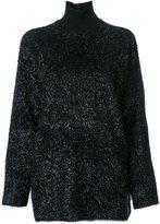 Martin Grant turtle neck jumper - women - Acrylic/Nylon/Virgin Wool/Cotton - 36