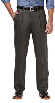 """Haggar Premium No Iron Classic Fit Pleated Pants - 29-34"""" Inseam"""