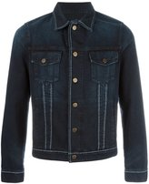 Lanvin contrast stitch denim jacket - men - Cotton/Polyester - 46