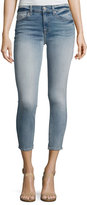 7 For All Mankind The Cropped Skinny Jeans, Indigo