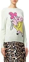 Vivienne Westwood Women's Green Wool Sweater.