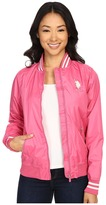 U.S. Polo Assn. Solid Jacket with Stripe Collar
