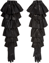 Rodarte Ruffle Gloves