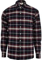 Mens Levi's Purple check shirt