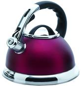 Creative Home Camille 12-Cup Tea Kettle with Stainless Steel in Opaque Cranberry