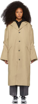 BEIGE ADER error Single Coat