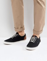Jack and Jones Vision Mixed Sneakers In Black
