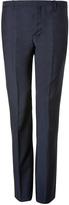 Jil Sander Wool Blend Pants in Blue