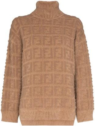 Fendi FF motif knit jumper