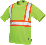 JCPenney Work King High-Visibility Traffic T-Shirt-Big & Tall