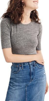 Madewell Crewneck Short Sleeve Bodysuit