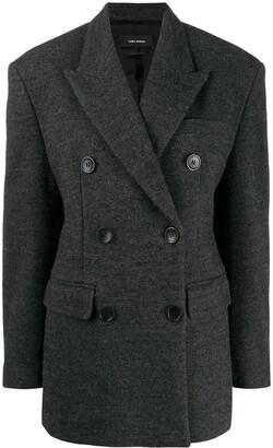 Isabel Marant Oversized Double Breasted Blazer