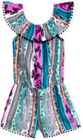 Epic Threads Butterfly-Print Romper, Toddler and Little Girls (2T-6X), Created for Macy's